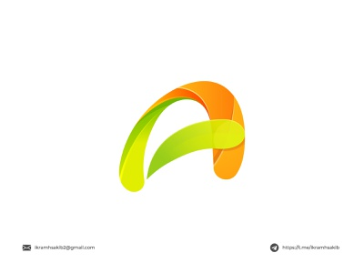 A logo concept playful fresh letter mark company professional business typography wordmark lettermark a design modern logo modern logo branding brand identity logo design