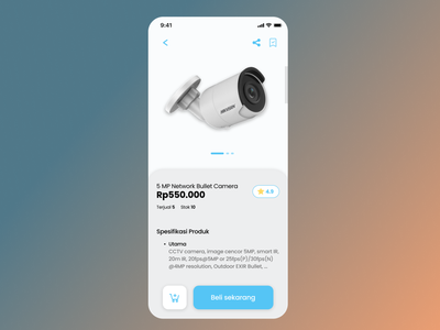 DailyUI 12 / Single item design mobiledesign dailyui app uiux ui application e-commerce item singleitem