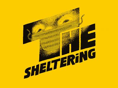 The Sheltering work from home poster illustration the sheltering room 237 humor movie mashup coronavirus logo mashup social distancing parody quarantined indoor badge challenge