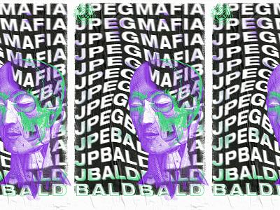 JPEGMAFIA texture poster design poster aigajacksonville aiga jpegmafia