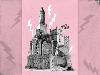 IGOR pink castle aiga jacksonville aiga poster design poster tyler the creator