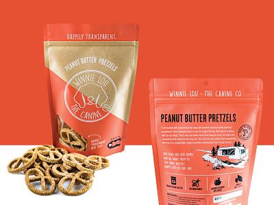 Dog Treats - I dog 3-color brand design branding package design packaging
