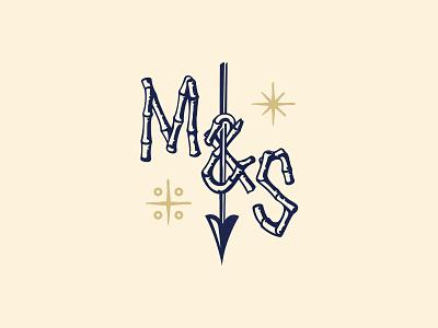 Mover & Shaker - Tiki Edition I tiki badge logo monogram type art type type design