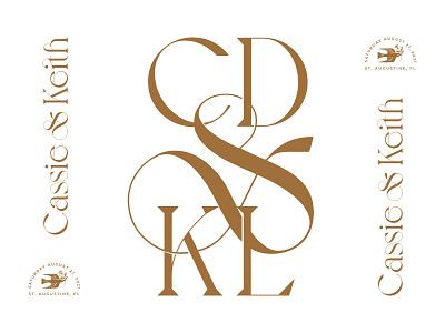 Wedding Details branding gold married wedding stationary monogram typography type wedding