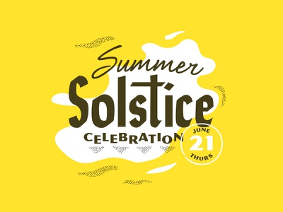 Summer Solstice 100th post summer solstice type texture series solstice 2018 summer