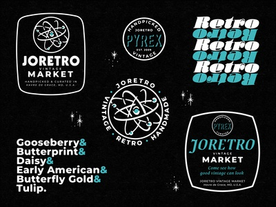 JoRetro store-branded merch