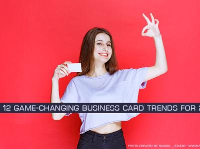 12 game-changing business card trends for 2022 trendsdesgine trendsdesignhugger branding logo motion graphics graphic design ui animation 3d