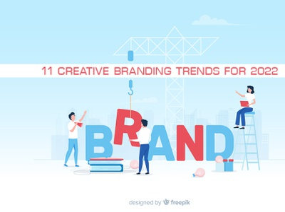 11 creative branding trends for 2022 trendsdesgine trendsdesignhugger branding logo motion graphics graphic design 3d animation ui