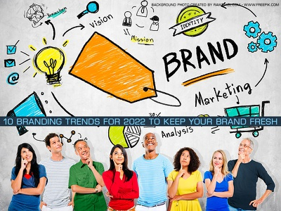 10 branding trends for 2022 to keep your brand fresh trendsdesgine trendsdesignhugger branding logo motion graphics graphic design 3d animation ui
