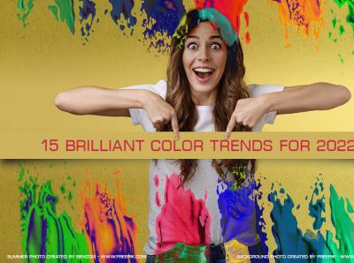 15 brilliant color trends for 2022 trendsdesgine trendsdesignhugger branding logo motion graphics graphic design 3d animation ui