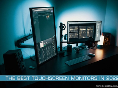 The best touchscreen monitors in 2022/23 branding logo motion graphics graphic design 3d animation ui
