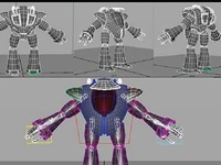 Game Character Modeling in Maya