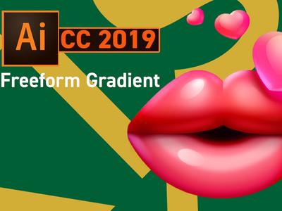 Illustrator Cc 2019 New Feature   Freeform Gradient