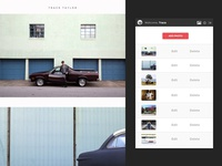Photography Website and CMS