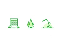 Forestry Service Icons
