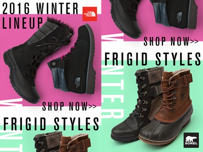Sorel & Northface Email Campaign