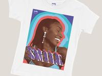 Smile T Shirt Concept