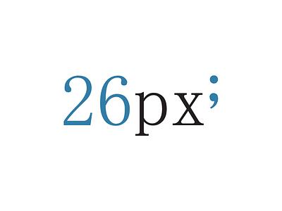 26px Logo logo branding 26px magazine design