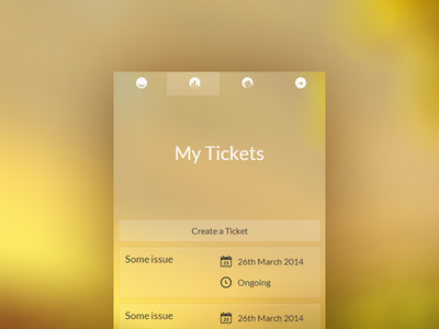 ISP customer service app isp app iphone ios android tickets tabs kickstart hackathon maldives gradient transparent