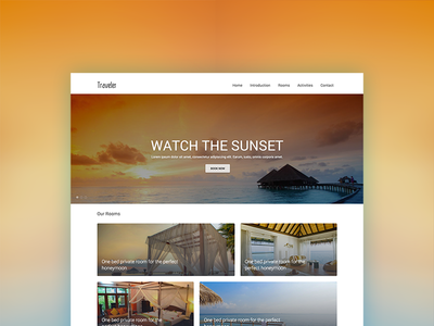 Traveler travel clean simple tourism guest house image