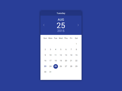 Pikaday Material material calendar date pikaday datepicker