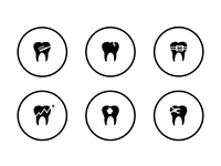Icon set for Smiledives website