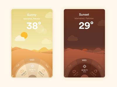 Winfo  - Weather App mobile app weather app weather