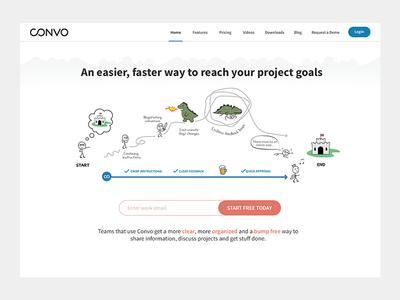 Convo - Main Theme Illustration
