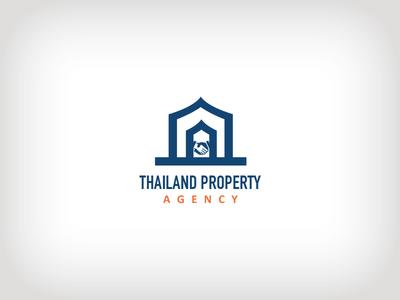 Thailand Property Agency real estate logo property