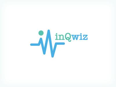 InqWiz pharmaceutical pharmacy vector logo inqwiz healthcare hospitals pharma emr health online