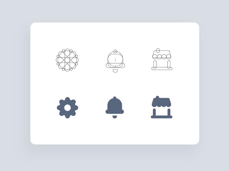 making icons illustration icons