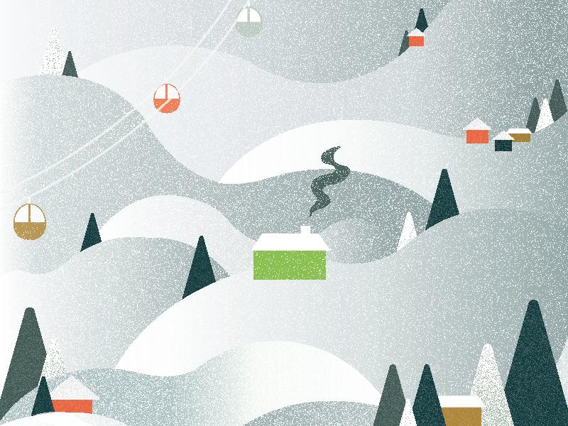 Winter Wonderland texture winter illustration