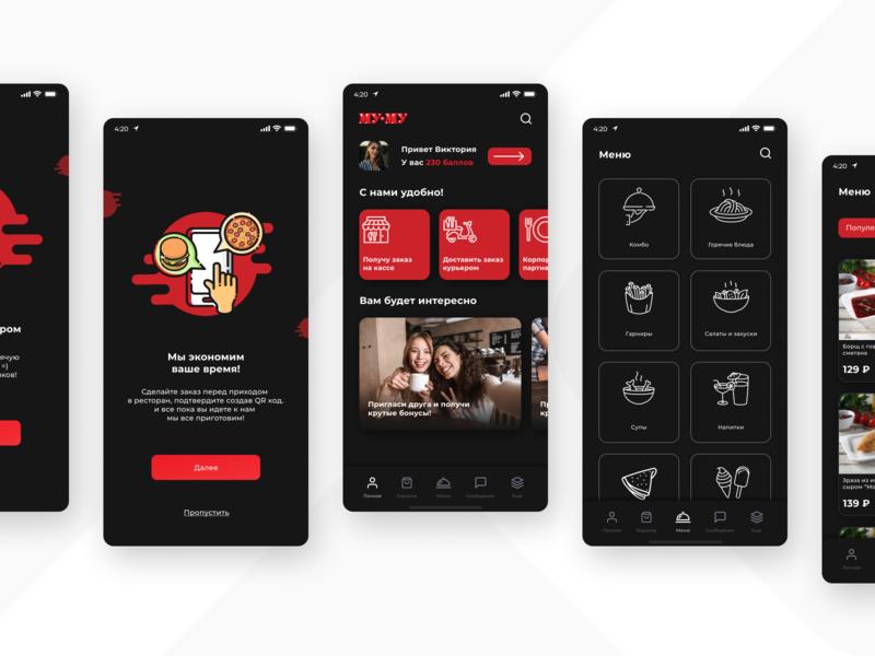 Mumu app #2 uidesign uxdesign web concept mobile app design app flat minimal ux ui design