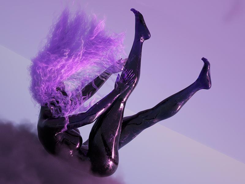 Cancer ♋️ fashion cancer astrology contemporary design minimal colors abstract illustration render octane digital cinema 4d cgi 3d