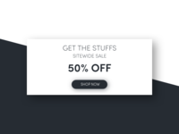 Special Offer - DailyUI 036