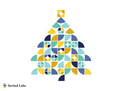 Serind Labs Holiday Card