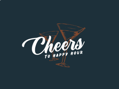Cheers To Happy Hour Logo