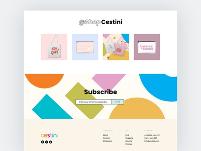 Geometric Shapes - Modern Web Design