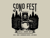 SoNo Fest & Chili Cook-Off Logo v2