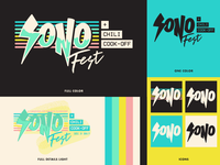 2017 SoNo Fest & Chili Cook-Off Identity