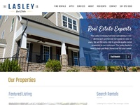 The Lasley Company - Website Design