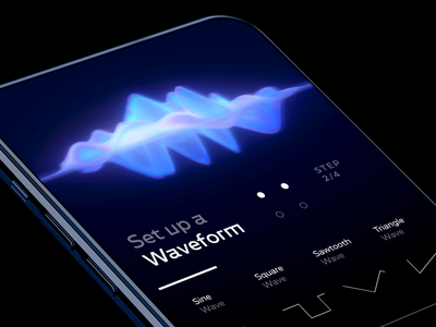 Waveform designs, themes, templates and downloadable graphic