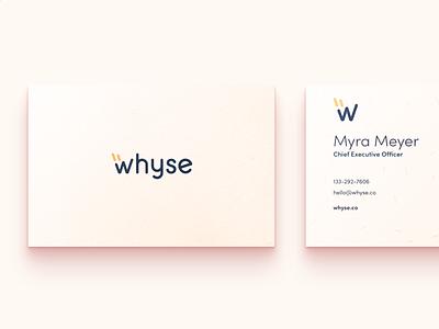 Whyse.co new branding rounded color logo design brand shot popular dribbble clean logotype vector branding logo design