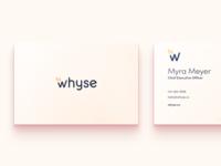 Whyse.co new branding