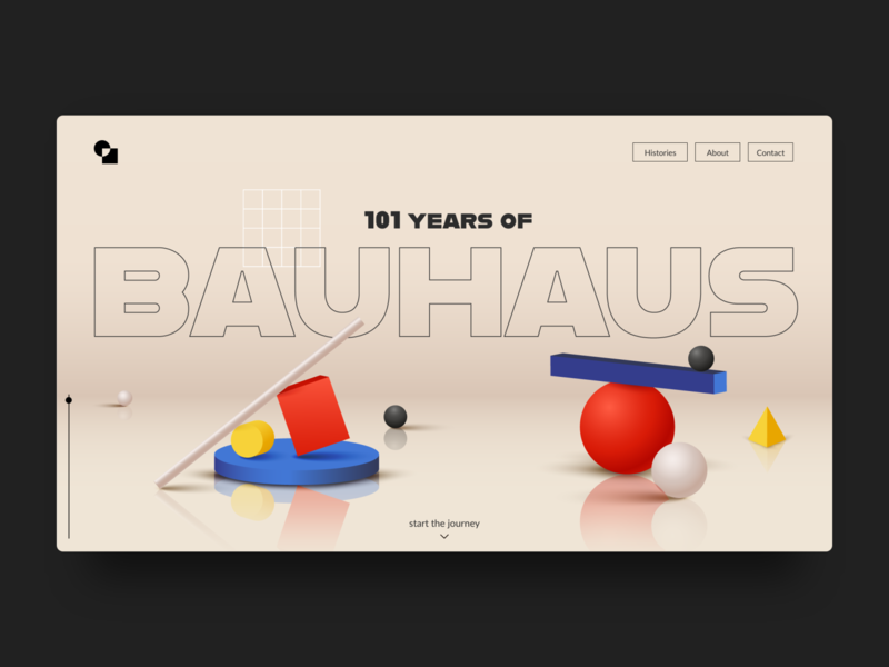 101 years of Bauhaus | UI #002