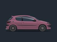 Peugeot 206 Amethyst Concept