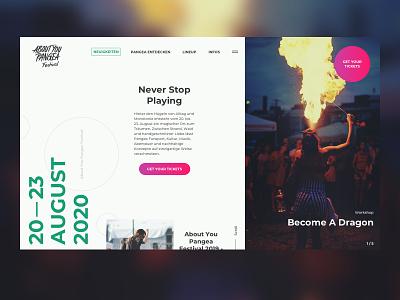Pangea Festival Website workshop adventure music concert holiday travel party festival