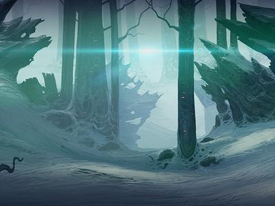 forest glare