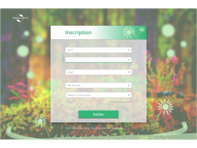 Subscribe to Magicearth subscribe form ui  ux design