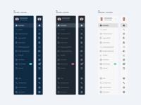 Publisher Software – Web App – Sidebar Color Schemes
